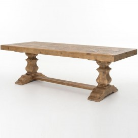Table de ferme bois massif Olympus, 300cm