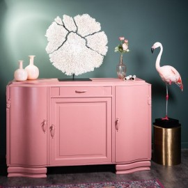 French Pink Art Deco Sideboard