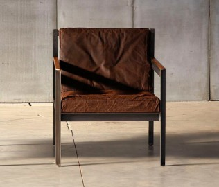 Fauteuil Andy Style Industriel