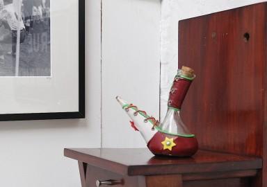 Petit vinaigrier décoratif