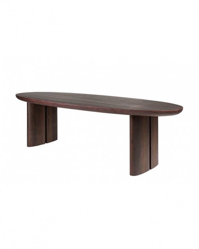 The Wooden Dining Table Pablo Is A