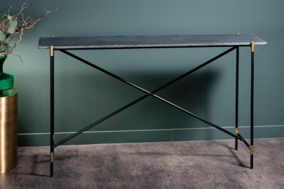 Black Marble Console