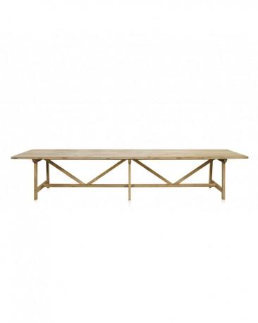 Wooden Dining Table Gilder 400cm