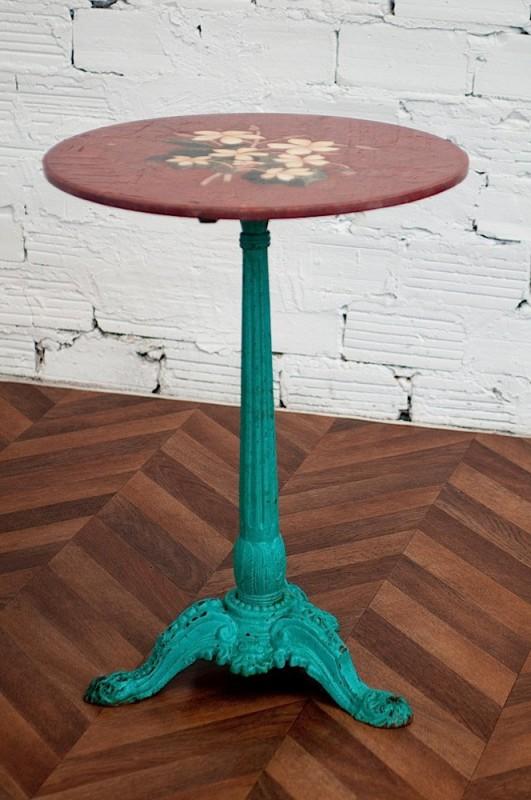vintage furniture, shabby chic, 1920s antique pedestal table