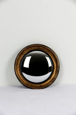 French Witch Mirror Napoleon II style ø33cm