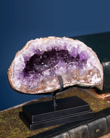 Amethyst geode in 1.4kg - Uruguay
