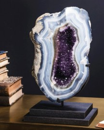 Amethyst in Agate Geode from Uruguay 7,15kg