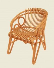 Rattan Chair Honey Color Corniche