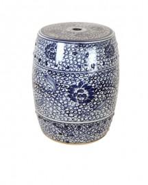 Lotus Ceramic Home-Made Stool