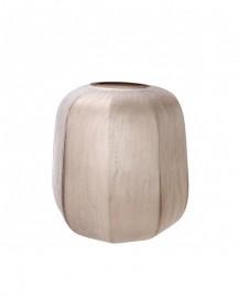 Vase Silk en verre soufflé main H32cm