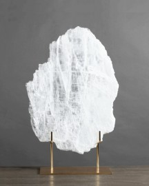 Block of Natural Selenite H 63cm