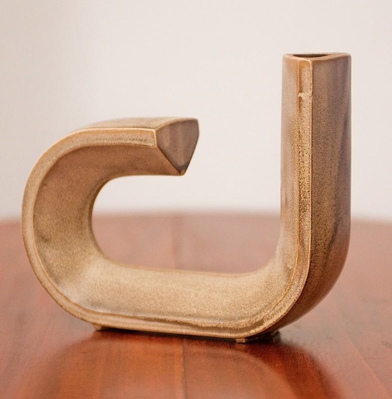 vase objets d co vintage csoliflore ann es 70 d co r tro de table. Black Bedroom Furniture Sets. Home Design Ideas