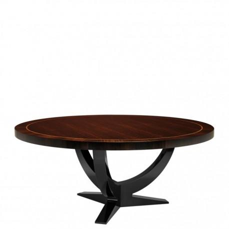 Table Ronde Art Déco, Eucalyptus ø180cm