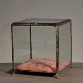 Boîte à Bijoux Carrée Style Napoléon III