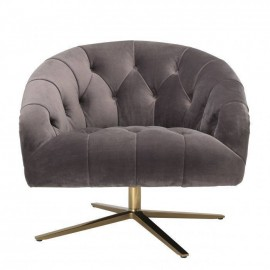 Swivel Padded Armchair Erton