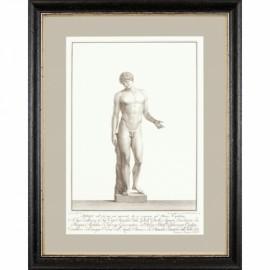 Gravures Statues Romaines Piranesi, Set de 4