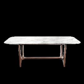Dining Table Calacatta Oro Marble Silvana