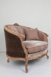 Lounge Chair Loveseat XVIIIeme style