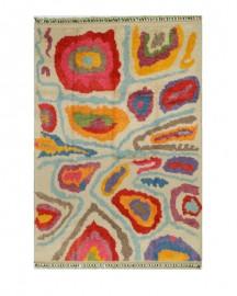 Grand Tapis Tulu Angora 205x308cm, pièce unique