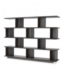 Shelves Cabinet Cubiste, Moka Oak