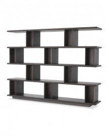 Shelves Cabinet Cubiste, Moka Oak