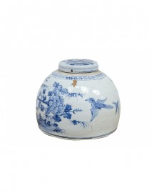 Handcrafted Chinese Porcelain Pot