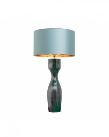 Earthenware Green Table Lamp Meryl H113cm