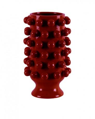 Cluster Vase Yellow Ceramic