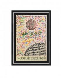 Affiche Alechinsky Bouches et Grilles 1986