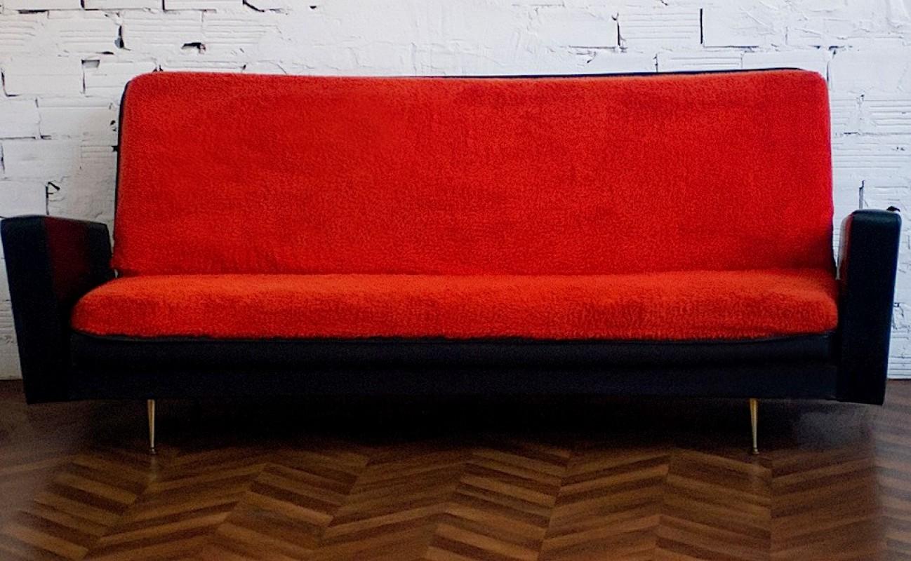 canap vintage ann es 50 meuble mobilier vintage d co 70s. Black Bedroom Furniture Sets. Home Design Ideas