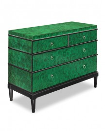 Commode Motif Malachite 120cm