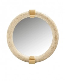 Large Mirror Bianca ø114cm