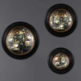 Antique Style Witch Mirror Set of 3