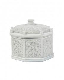 Boîte de Style Reliquaire - Résine - H 13,5 cm