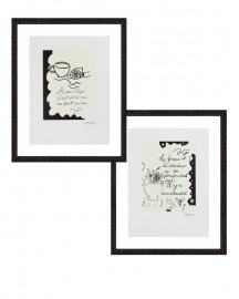 Prints by G. Braque, Set of 2