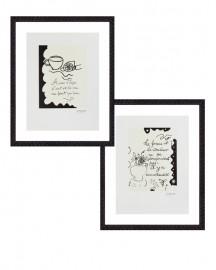 Gravures G. Braque, set de 2