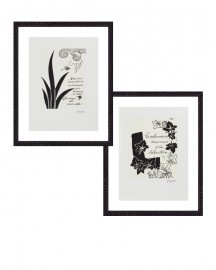 Engravings G.Braque, Set of 2