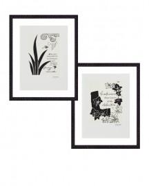 Gravures G.Braque, Set de 2