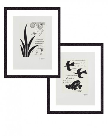 Engravings by Georges Braque, Set of 2