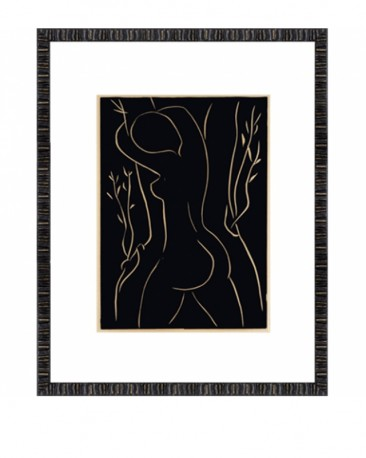 Seated Nude Prints Modigliani Set of 2