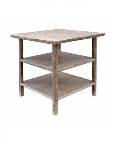 Round Coffee Table Joy - Metal, Glass & Marble
