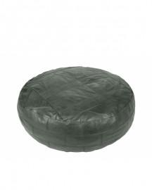 Green Round Velvet Ottoman ø120cm