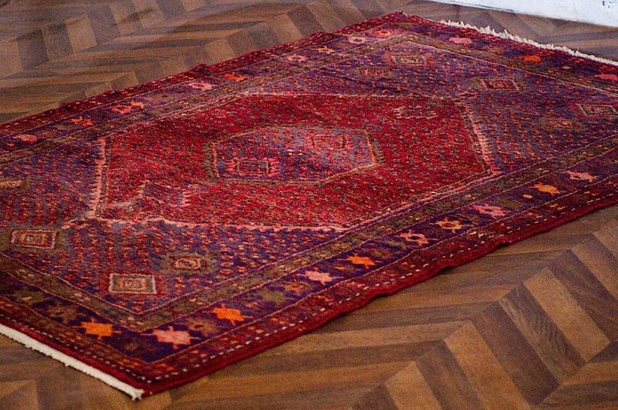 Persian Kilim Rug Antique Vintage Carpet Floor
