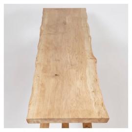 Atelier Bench in Solid Oak, 250cm