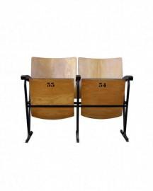 2 Genuine Vintage Cinema Chairs