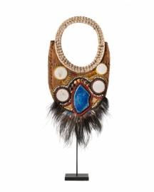 Papou Necklace on Base H82cm