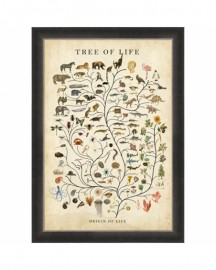 Tree of Life Engraving, H90cm
