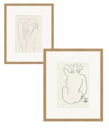 NudeS by Matisse Set of 2