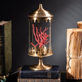 Red Mediterranean Coral in Reliquary.