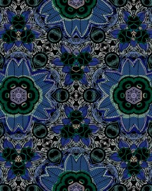 Blue Wallpaper Bamako, Price On Request